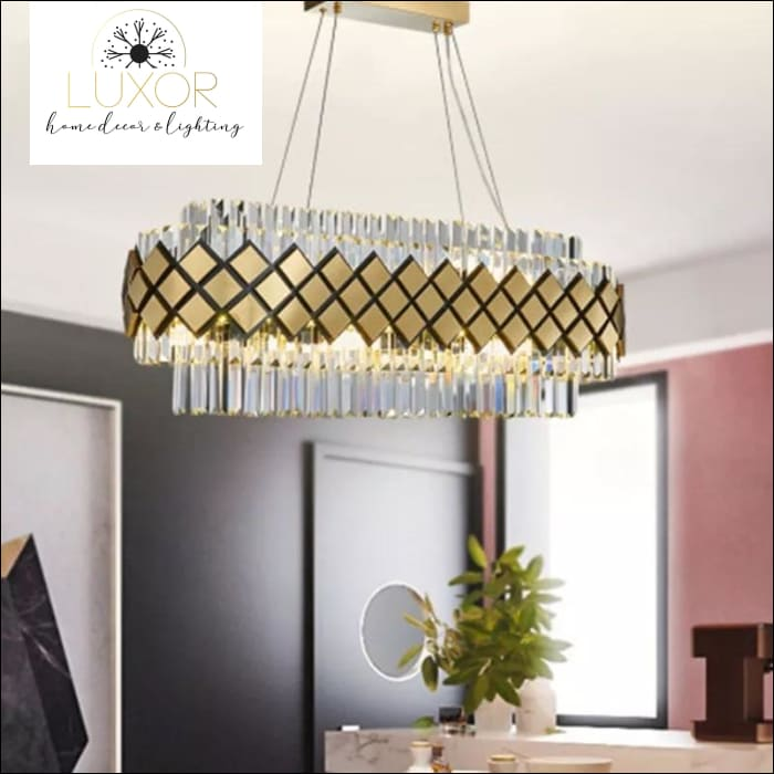 chandeliers Wella Gold Luxury Chandelier - Luxor Home Decor & Lighting