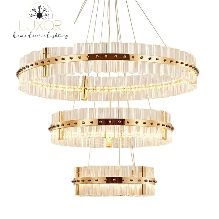 Chandelier Tiara Modern Crystal Chandelier - Luxor Home Decor & Lighting