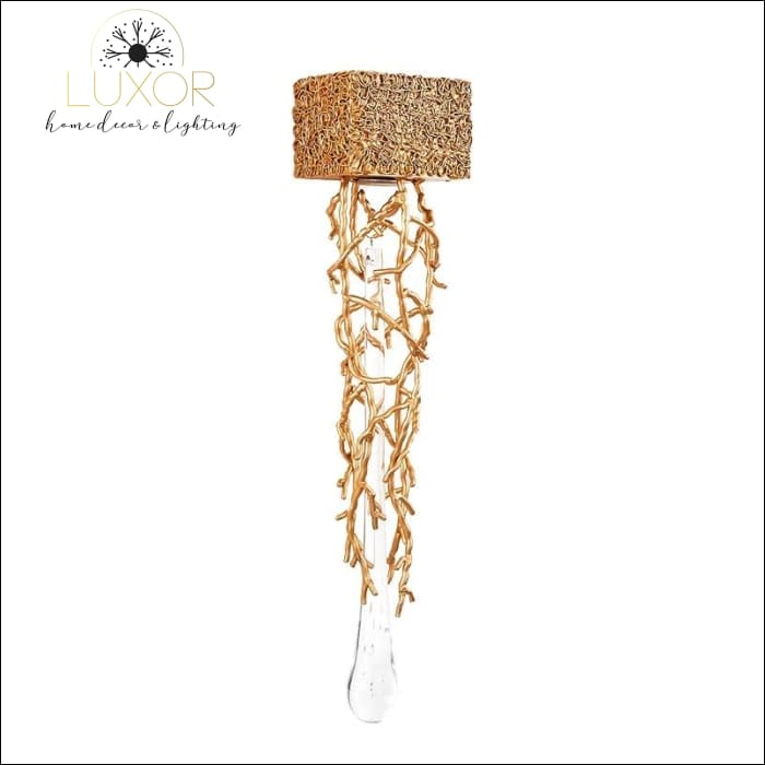 wall lighting Dubai Gold Branch Sconce - Luxor Home Decor & Lighting