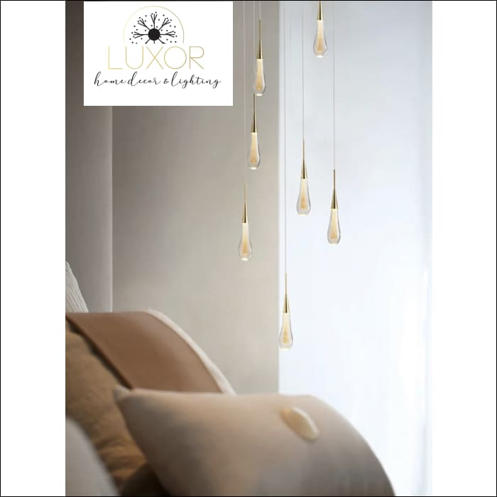 Henzel Teardrop Pendant - pendant lighting