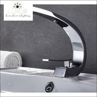 XANI Modern Bathroom Brass Faucet - Chrome - faucets
