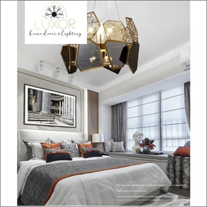 chandeliers Electra Post Modern Chandelier - Luxor Home Decor & Lighting