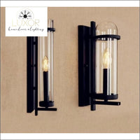 Norini Glass Antique Vintage Wall Sconce - wall lighting