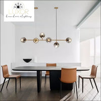 pendant lighting Yanzi Linear Suspensión Pendant Light - Luxor Home Decor & Lighting