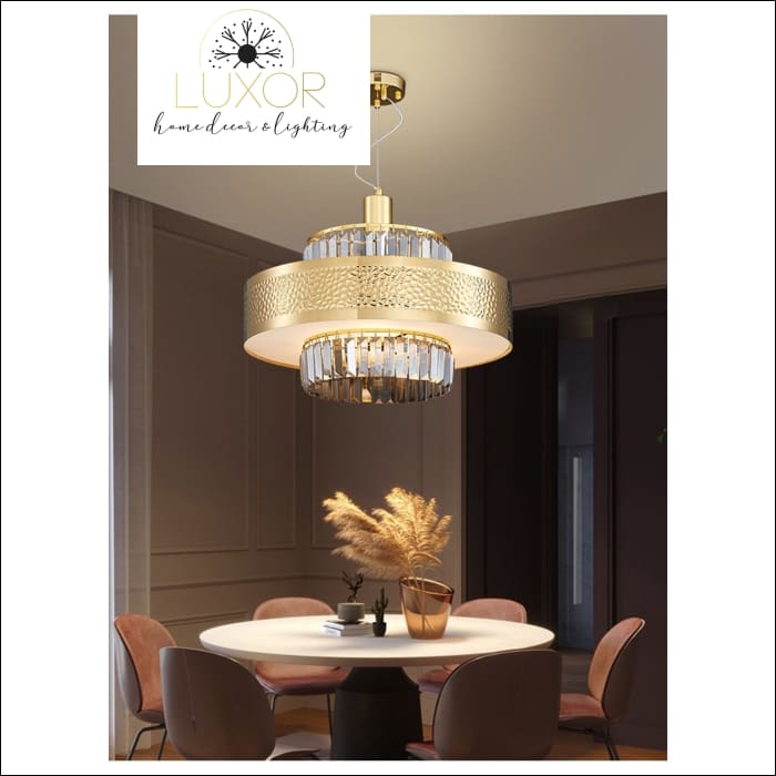 chandeliers Stirling Crystal Chandelier - Luxor Home Decor & Lighting