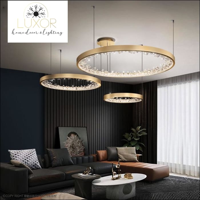 chandeliers Jenter Ring Chandelier - Luxor Home Decor & Lighting