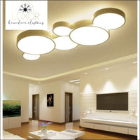 White Bubbles LED Ceiling Light - ceiling lights