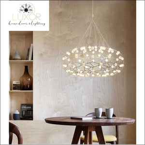 chandeliers Star Mesh LED Chandelier - Luxor Home Decor & Lighting