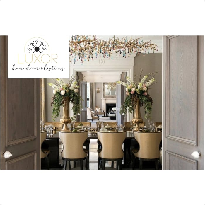 chandeliers Luxury Goddess Crystal Chandelier - Luxor Home Decor & Lighting