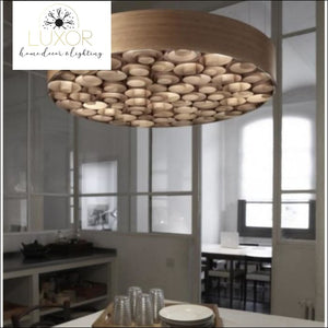 chandeliers Empire Wooden Chandelier - Luxor Home Decor & Lighting