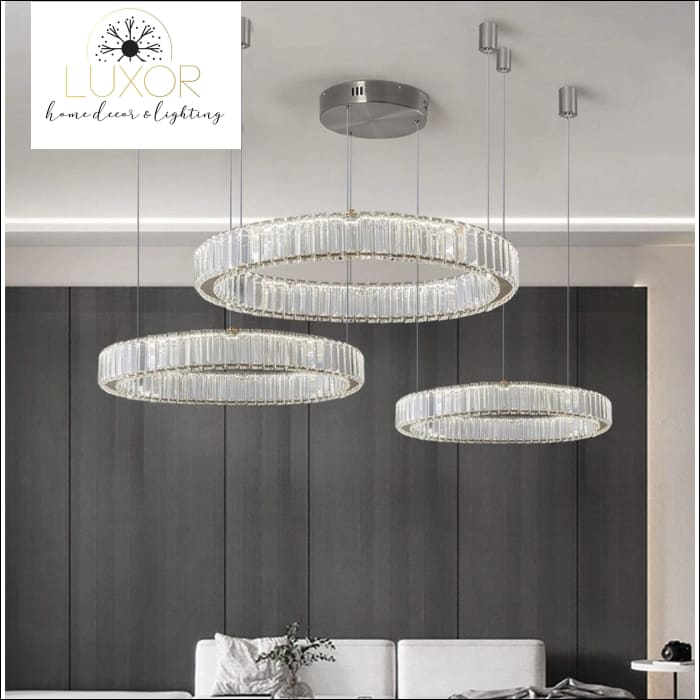 Roland Crystal Pendant - pendant lighting