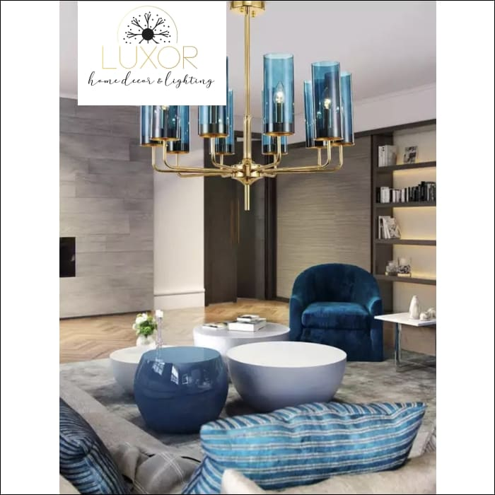 Aqualina Post Modern Chandelier - Chandeliers