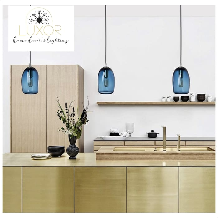 Pendant Lighting Blue Modern Pendant - Luxor Home Decor & Lighting