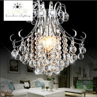 Voila Crystal Pendant - pendant lighting