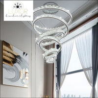 chandeliers Florence Crystal Chandelier - Luxor Home Decor & Lighting