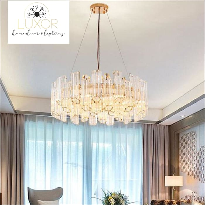 chandeliers Arlinise Crystal Chandelier - Luxor Home Decor & Lighting
