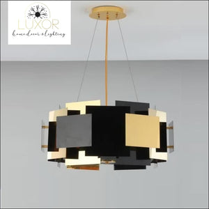 Maxime Puzzle Chandelier - chandeliers