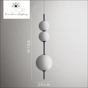 pendant lighting Aldo Nordic Pendant Light - Luxor Home Decor & Lighting
