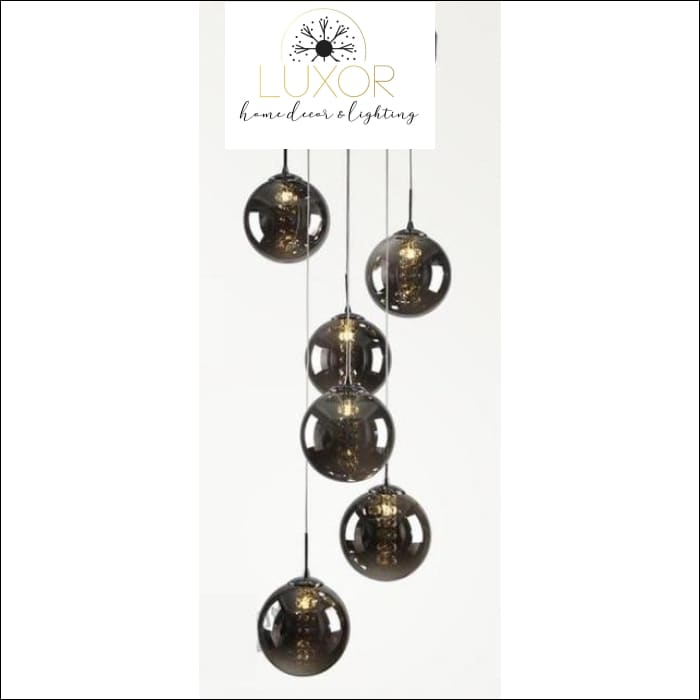 pendant lighting Raven Glass Pendant - Luxor Home Decor & Lighting