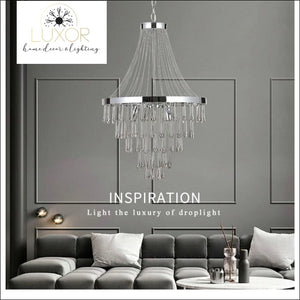 chandeliers Lux Crystal Chandelier - Luxor Home Decor & Lighting