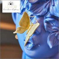 decorative objects Butterfly Boy Sculpture - Luxor Home Decor & Lighting