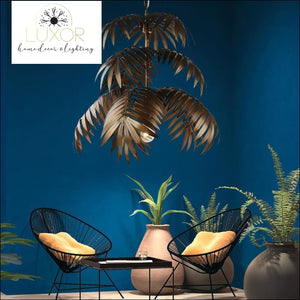 pendant lighting Coconut Palm Delight Art Deco Pendant - Luxor Home Decor & Lighting