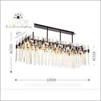chandeliers Trenz Crystal Chandelier - Luxor Home Decor & Lighting