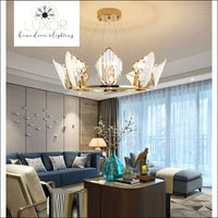 chandeliers Diamond Lux Crystal Chandelier - Luxor Home Decor & Lighting