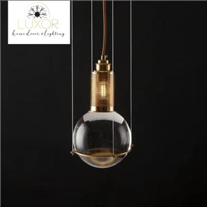 Transitional Post Modern Glass Pendant - pendant lighting