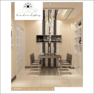 chandeliers Spiral Crystal Luxury Chandelier - Luxor Home Decor & Lighting