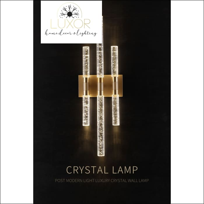 wall lighting Lumanari Bubble Wall Light - Luxor Home Decor & Lighting