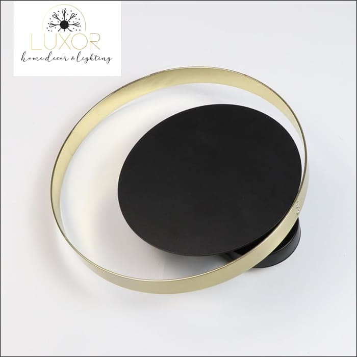 wall lighting Willow Circular Sconce - Luxor Home Decor & Lighting