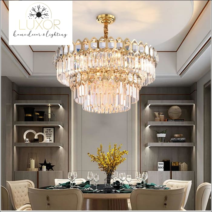 Politano Crystal Chandelier - chandeliers