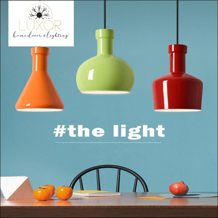 pendant lighting Macaroon Candy Color Pendant Lamp - Luxor Home Decor & Lighting