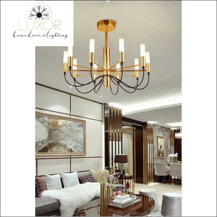 chandeliers Exorta Candelabra Chandelier - Luxor Home Decor & Lighting
