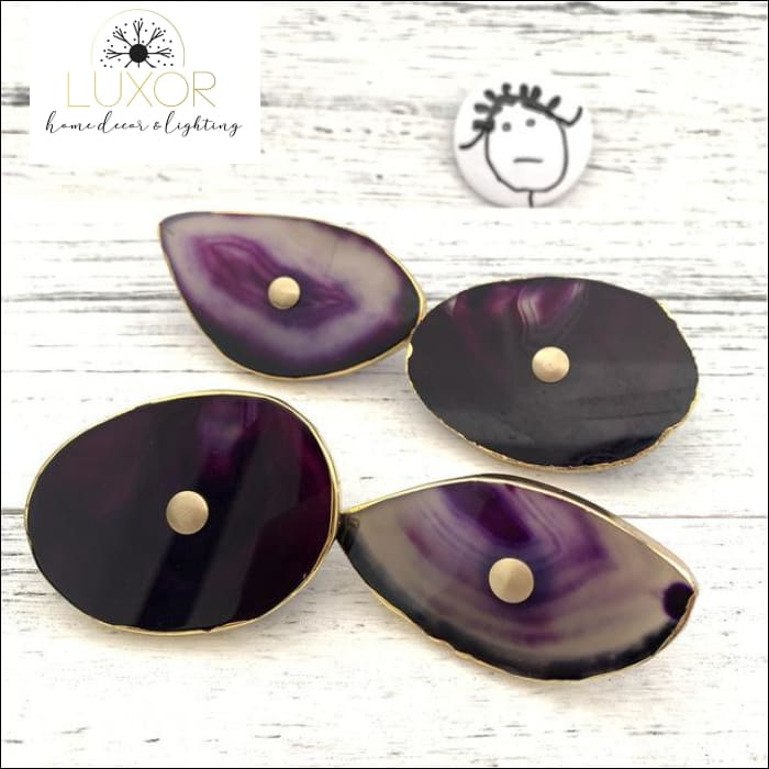 wall decor Agate Wall Hooks - Luxor Home Decor & Lighting