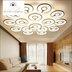 ceiling lights Selini White Modern LED Ceiling Light - Luxor Home Decor & Lighting