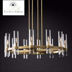 chandeliers American Loft Retro Candelabra Chandelier - Luxor Home Decor & Lighting