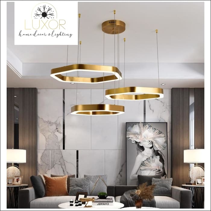pendant lighting Octagon Nordic Pendant - Luxor Home Decor & Lighting