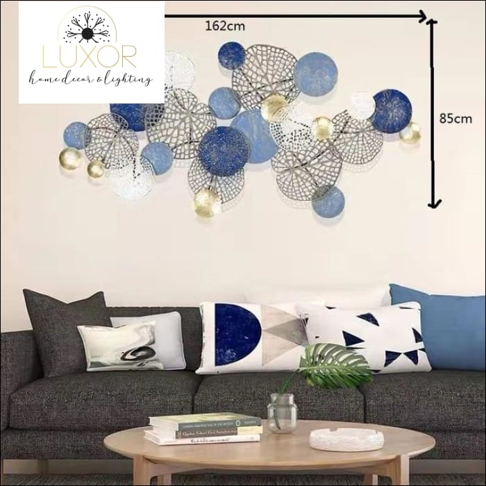 Adele Europe 3D Wall Decor - M blue - wall decor