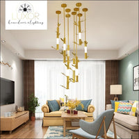 chandeliers Urban Post Modern Suspension Light - Luxor Home Decor & Lighting