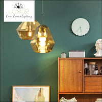 pendant lighting Solstice Golden Pendant - Luxor Home Decor & Lighting