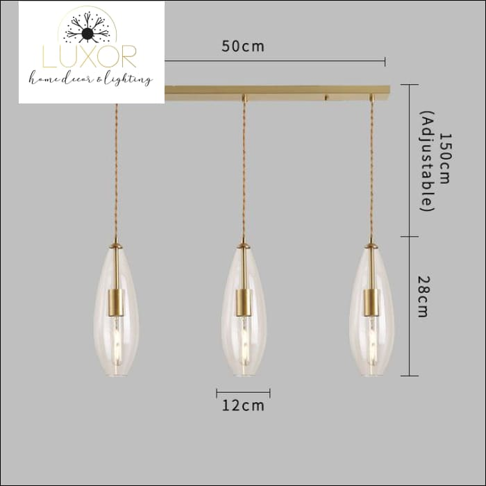 pendant lighting Rizini Pendant Light - Luxor Home Decor & Lighting