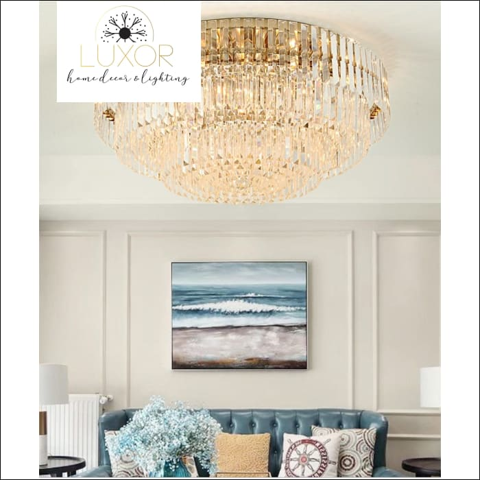 Candice Crystal Ceiling Light - ceiling light