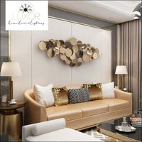 wall decor Infinite Grande Gold Wall Decor - Luxor Home Decor & Lighting