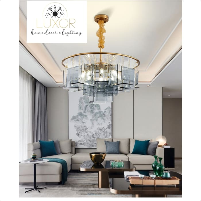 Rozu Luxury Crystal Chandelier - chandeliers