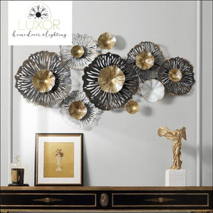 wall decor Flourise Metal Wall Decor - Luxor Home Decor & Lighting
