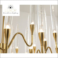 Odyssey Crystal Chandelier - chandeliers