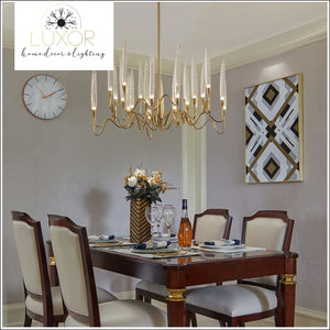 chandeliers Odyssey Crystal Chandelier - Luxor Home Decor & Lighting