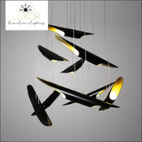 Coltraine Lux Chandelier - chandeliers